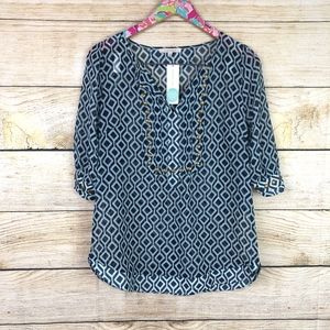 41 Hawthorn Tops - NWT Stitch Fix 41 Hawthorn blouse size S // A15